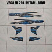 Striping Vega ZR 2011 Hitam - Biru