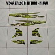 Striping Vega ZR 2011 Hitam - Hijau