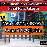 Rumah Kost Aktif Di Pusat Kota Jakarta Jakarta Pusat