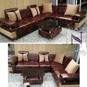 Sofa L Minimalis Bahan Oscar