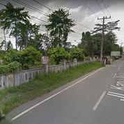 Tanah Darat Di Pinggir Jalan Utama Kota Medan
