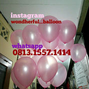 BALON GAS HELIUM BALON DEKORASI ULANG TAHUN BRIDAL SHOWER BABY SHOWER BALON LATEX