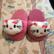 Sandal Tidur Boneka Hello Kitty