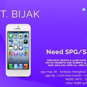 Need Spg/Spb Aplikasi Akulaku Area Jabodetabek