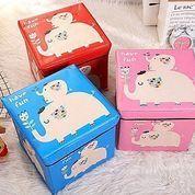 Animal Storage Box Organizer Kotak Tempat Simpan Mainan Anak Penyimpanan Majalah Motif Karakter