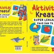 Aktivitas Kreatif Super Lengkap Paud Dan Tk Oleh Pratiwi Utami