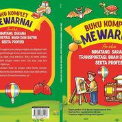 Buku Komplet Mewarnai Aneka Binatang,Sarana Transportasi, Sayur & Buah,Serta Profesi Oleh Kak?Okta