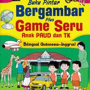 Buku?Pintar Bergambar Plus Game Seru Anak Paud Dan Tk Bilingual (Indonesia ? Inggris)