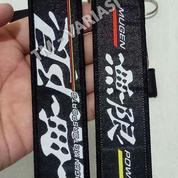 Gantungan Kunci Key Chain Key Ring Luggage Tag Mugen Motor Sports Hitam