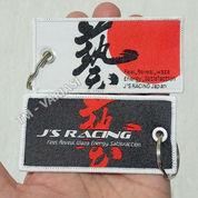 Gantungan Kunci Key Chain Key Ring Luggage Tag JSRacing Japan Flag