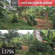 Kavling Cisauk, Bogor, 706 M, SHM