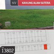 Kavling Alam Sutera, Cluster Matahari, Tangerang, 12x20m, PPJB