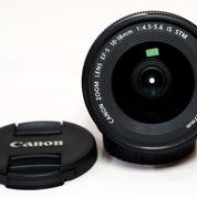 Canon EF-S 10-18mm F4.5-5.6 IS STM Like New Lengkap Boxx