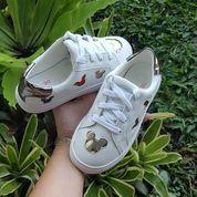 Sneaker Mickey Anak Putih Import