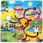 Mainan Edukasi Maze Hewan