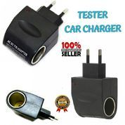 Saver Switch Car Charger TS95 Tester Car Charger USB Lighter Cas Pengubah Jenis Colokan Mobil