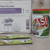 Real Bubee Electric Breast Pump Free Booster Asi