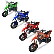 Motor Mini Trail Dirt Bike 49cc