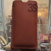 Leather Case Pouch Iphone 5 / 5s Sarung HP Android PU Gustavo Sleeve
