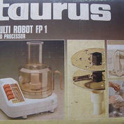 Taurus Multi Robot FP-1 Food Processor (Potong BUAH< SAYUR Etc)