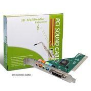 PCI Sound Card Soundcard + Cd Driver