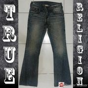 Celana Jeans Panjang True Religion Section Joey Super T Original Made In Usa Size 33