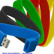 Souvenir USB Flashdisk Gelang Silicone - FDBR01
