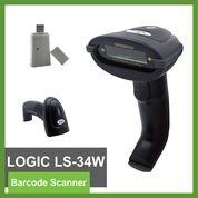 Barcode Scanner Wirelless USB Logic LS-34W