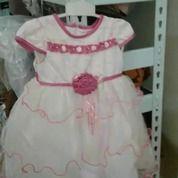 Dress Anak 3 Thn,Bahan Katun,Merek Aluza,Kualitas Bagus Dan Mewah