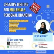 Creative Writing For Millenials Personal Branding