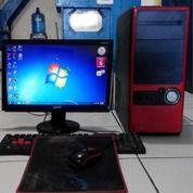 Komputer Lengkap Dengan Mouse Macro Keyboard Logitech