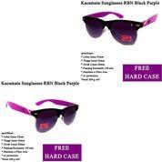 Kacamata Aviator RBN Black Purple