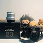 Kamera Fujifilm X-T20 Dan Lensa Fujinon 23mm R 1.2 WR + Lensa Fujinon 50mm R 1.2 WR