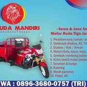 Sewa Gerobak Motor Roda Tiga Murah Surabaya