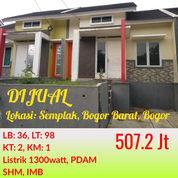 Rumah Bonus Furniture Green Valley Semplak Bisa KPR Dekat Bandara Atang Sanjaya Dan Toll BORR Bogor