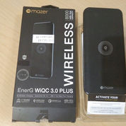 MAZERWIQC3: Powerbank Qi Wireless Charging 8.000 MAh Qualcomm QC 3,0