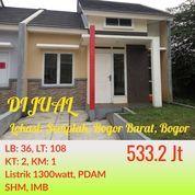 Cluster Free Furniture Green Valley Semplak Bisa KPR Dekat LanUd Atang Sanjaya, Giant Yasmin Bogor