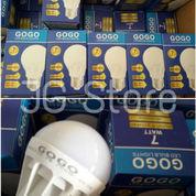 Lampu Bohlam LED 7 Watt Gogo Terang LED Putih