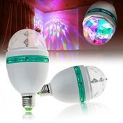 Lampu Disco Putar 3 Warna Lampu Disco Hias Dekorasi