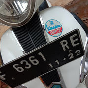 Vespa Liberty 2012 150cc Plat F Kabupaten