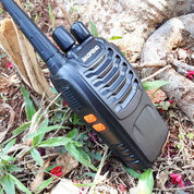 Handy Talky HT Baofeng BF-888S BF888S New UHF 3W Walkie Talkie Sisa Stok