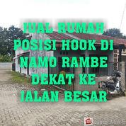Rumah Murah Posisi Hook Pinggir Jalan Perjuangan Di Namo Rambe Dekat Medan Johor
