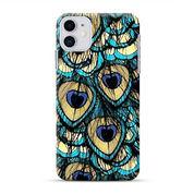 Peacock Feather IPhone 11 Custom Hard Case