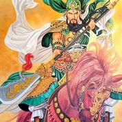 Lukisan Dewa Kwan Kong ( Guan Yu )