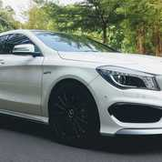 Mercy CLA 45 AMG 2015/2016 KM 4 Ribu Antik Like A New