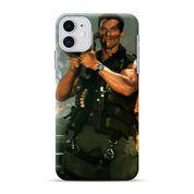 Arnol Rchwarzenengger Commando Rocket IPhone 11 Custom Hard Case