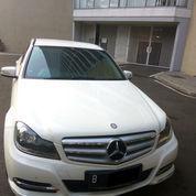 Mercedes-Benz C200 AVG 2013 White Istimewa