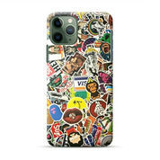 Logo Collages IPhone 11 Pro Custom Hard Case