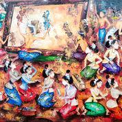 Lukisan Wayang Kulit