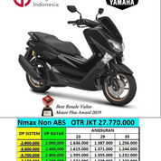 Yamaha N Max Non Abs Matte Black Harga Jakarta